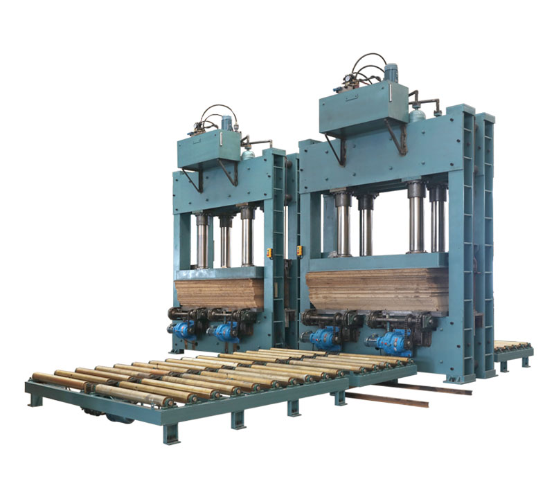 preforming press(Landing roller table)