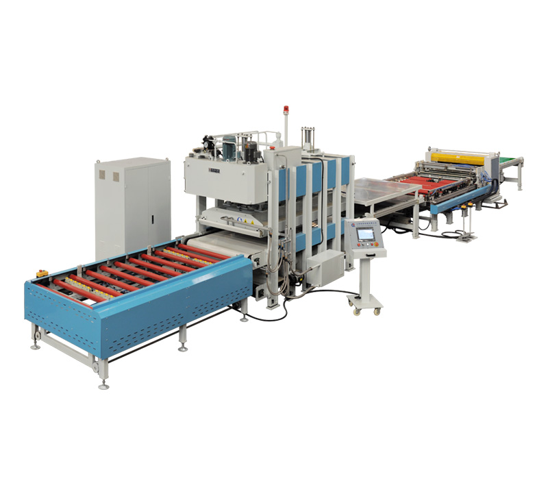 Panel cover、Wood door compounding production line  (three direction direction) BY624 x 8/16