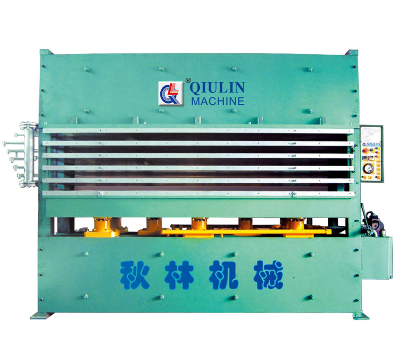 120T honeycomb board molding press
