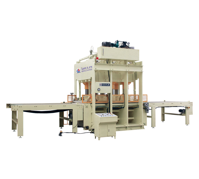 420T Width way loading and unloading hot press for piano plate